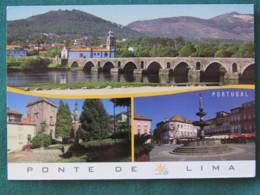 "Portugal Postcard ""Ponte De Lima"" Unused - Bridge - Unclassified"