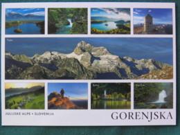 "Slovenia Postcard ""Gorenjska Mountains"" Unused - Slovénie"
