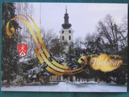 "Croacia 2017 Postcard ""Bjelovar"" To Nicaragua (inside Letter) - Church - Croatie"