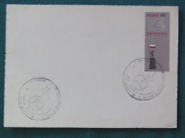 "Poland 1968 FDC Postcard ""peace Dove - Flag"" - Pologne"
