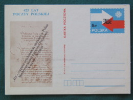 Poland Stationery Postcard Arrows Book Page - Pologne