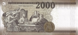 HUNGARY P. 204a 2000 F 2016 UNC - Hongrie