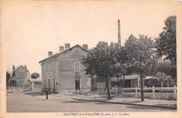 CHATEAU LA VALLIERE La Gare 25(scan Recto-verso) MA1976 - France