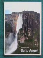 "Venezuela 2016 Postcard ""Salto Angel Waterfall"" To Nicaragua - Bolivar Mountains - Venezuela"