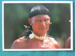 "Brasil 1992 Postcard ""Xavante Indians"" Unused - Brésil"