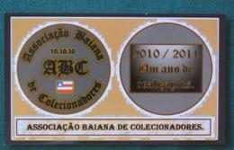 "Brasil 2011 Postcard ""Bahia Collectors Association "" Unused - Brésil"