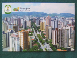 "Brasil Postcard ""Belo Horizonte - Minas Gerais - Buildings"" Unused - Brésil"