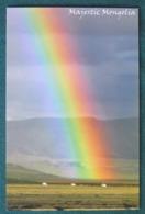 """Mongolia Postcard """"rainbow"""" Unused - Mongolie"""