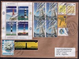 Argentina - Lettre - 2016 - Grands Voiliers - Bateaux - Navires - Phares - Lighthouses - Big Sailboats - Argentine