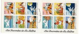 1998- Carnet De Timbres-poste Autocollants-les Journées De La Lettre - Croix Rouge