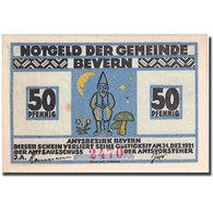 Billet, Allemagne, Bevern, 50 Pfennig, Escargot 1921, 1921-12-31, SPL Mehl 97.1a - Allemagne