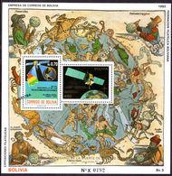 Bolivia 1993 Copernicus Souvenir Sheet Unmounted Mint. - Bolivia