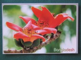"Bangladesh Postcard ""flowers"" Unused - Bangladesh"