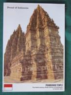 """Indonesia Postcard """"Prambanan Temple - Java"""" Unused - Indonésie"""