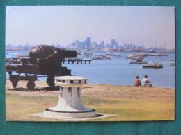 "Australia 1977 Stationery Postcard ""Melbourne From Williamstown - Port Philip Bay"" To South Australia - Australia"