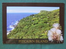 "Pitcairn Island 2016 Postcard ""Adamstown - Coast"" To Nicaragua - Bell - Cartes Postales"