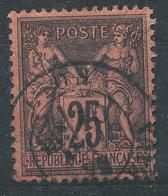 N°91  BEAU CACHET A DATE. - 1876-1898 Sage (Type II)