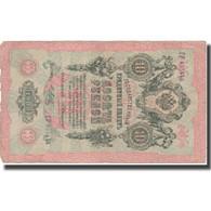 Billet, Russie, 10 Rubles, 1909, 1909, KM:11b, TB - Russie