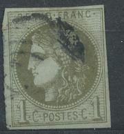 N°39 BEAU CACHET A DATE. - 1870 Bordeaux Printing