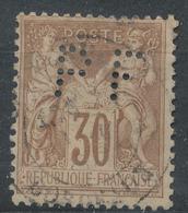 N°80 CACHET ROUGE - 1876-1898 Sage (Type II)
