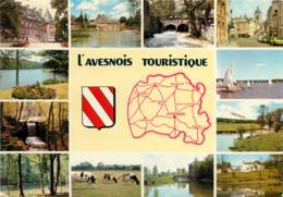 AVESNES Sur HELPE   Avesnois Touristique  9   (scan Recto-verso)MA1990Ter - Avesnes Sur Helpe