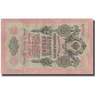Billet, Russie, 10 Rubles, 1909, 1909, KM:11c, TTB+ - Russie