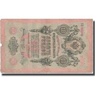 Billet, Russie, 10 Rubles, 1909, 1909, KM:11b, TTB - Russie