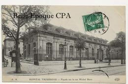 75 - PARIS 12 - Hôpital TROUSSEAU - #? - Façade Sur La Rue Michel Bizot ++++ ELD / A.P. ++++ 1909 - Arrondissement: 12