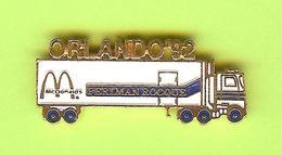 Pin's Mac Do McDonald's Camion Orlando '92 Perlman Rocque - 1W26 - McDonald's