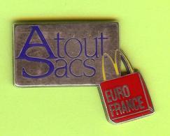 Pin's Mac Do McDonald's Atout Sacs Euro France - 1W27 - McDonald's