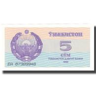 Billet, Uzbekistan, 5 Sum, 1992-1993, KM:63a, NEUF - Ouzbékistan