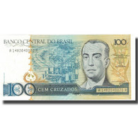 Billet, Brésil, 100 Cruzados, Undated (1986-88), KM:211b, SPL+ - Brésil