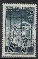 FRANCE      N° YVERT  :     1407   ( 1 )    OBLITERE - France