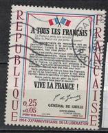 FRANCE      N° YVERT  :     1408   OBLITERE - France