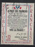 FRANCE      N° YVERT  :     1408   ( 1 )   OBLITERE - France