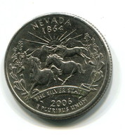 2006 USA Nevada Commemorative 25 Cent  Coin - Federal Issues