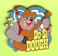 Pin's BD Disney Do-Si-Dough Ours Musicien - 3Y06 - Disney