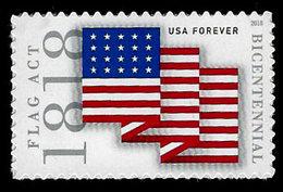 USA, 2018, 5284 Flag Act Of 1818, Single,  MNH, VF - Unused Stamps