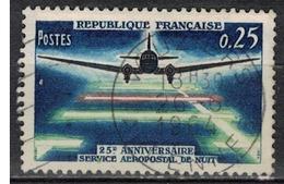 FRANCE      N° YVERT  :     1418       ( 3 )            OBLITERE - France
