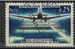 FRANCE      N° YVERT  :     1418       ( 6 )            OBLITERE - France