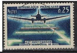FRANCE      N° YVERT  :     1418       ( 7 )            OBLITERE - France
