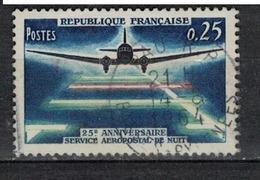 FRANCE      N° YVERT  :     1418       ( 9 )            OBLITERE - France