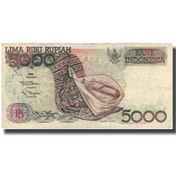 Billet, Indonésie, 5000 Rupiah, 1992-1995, KM:130d, TTB - Indonésie