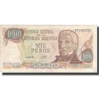 Billet, Argentine, 1000 Pesos, Undated (1976-83), KM:304b, TTB - Pologne