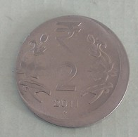India Indein Error Coin..2011...2 Rupee - India