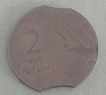 India Indein Error Coin..2008...2 Rupee - India