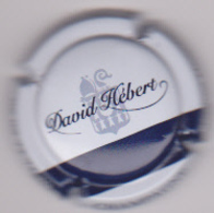 Capsule Champagne HEBERT David ( Nr , Blanc Et Bleu ) {S51-18} - Champagne