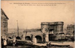 5KT 646 CPA - BIBLIOTHEQUE DE DIEPPE - LE VIEUX PONT DU POLLET - Dieppe