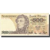 Billet, Pologne, 500 Zlotych, 1982, 1982-06-01, KM:145d, TTB+ - Pologne