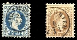 1867, Österreich Post In Der Levante, 4-5, Gest. - Levante-Marken